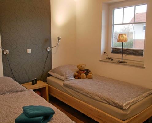 Ferienwohnung Heuboden - Schlafzimmer