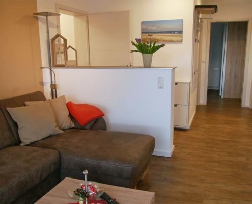 Ferienwohnung Heuboden - Wohnzimmer