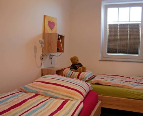 Ferienwohnung Pferdestall - Schlafzimmer