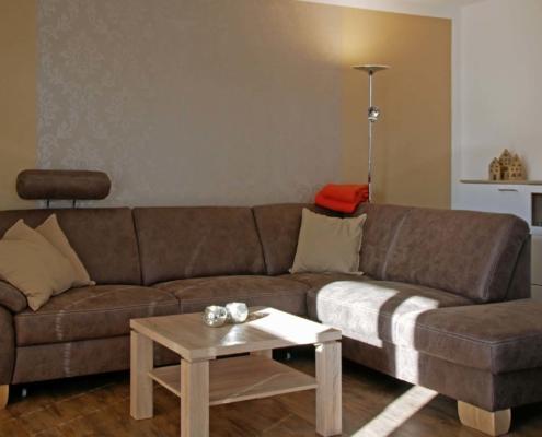 Ferienwohnung Pferdestall - Wohnzimmer